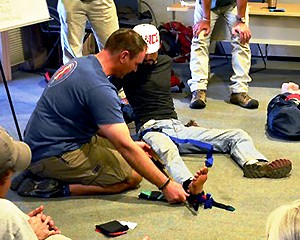 New Course:  Wilderness First Aid, Sept 26-27, 2015
