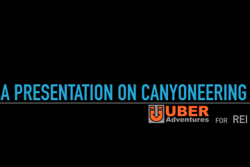 REI Tour!  Klaus Gerhart presenting on Canyoneering in 7 cities.